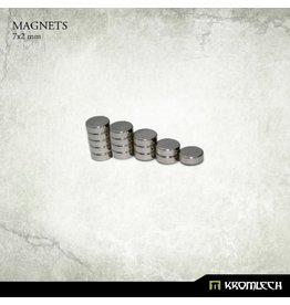 Kromlech Neodymium Disk Magnets 7x2mm