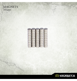 Kromlech Neodymium Disk Magnets 2X1mm