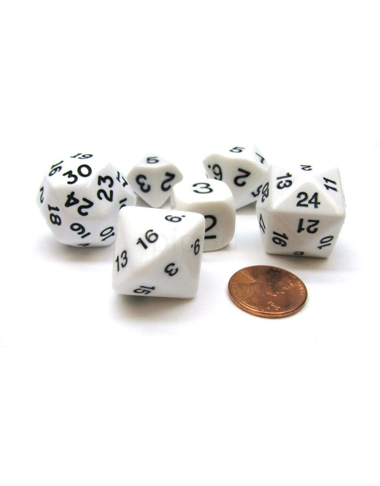 Koplow Games 6/SE BH  WHO KNEW? D3,D5,D7.D16,D24,D30 WHITE