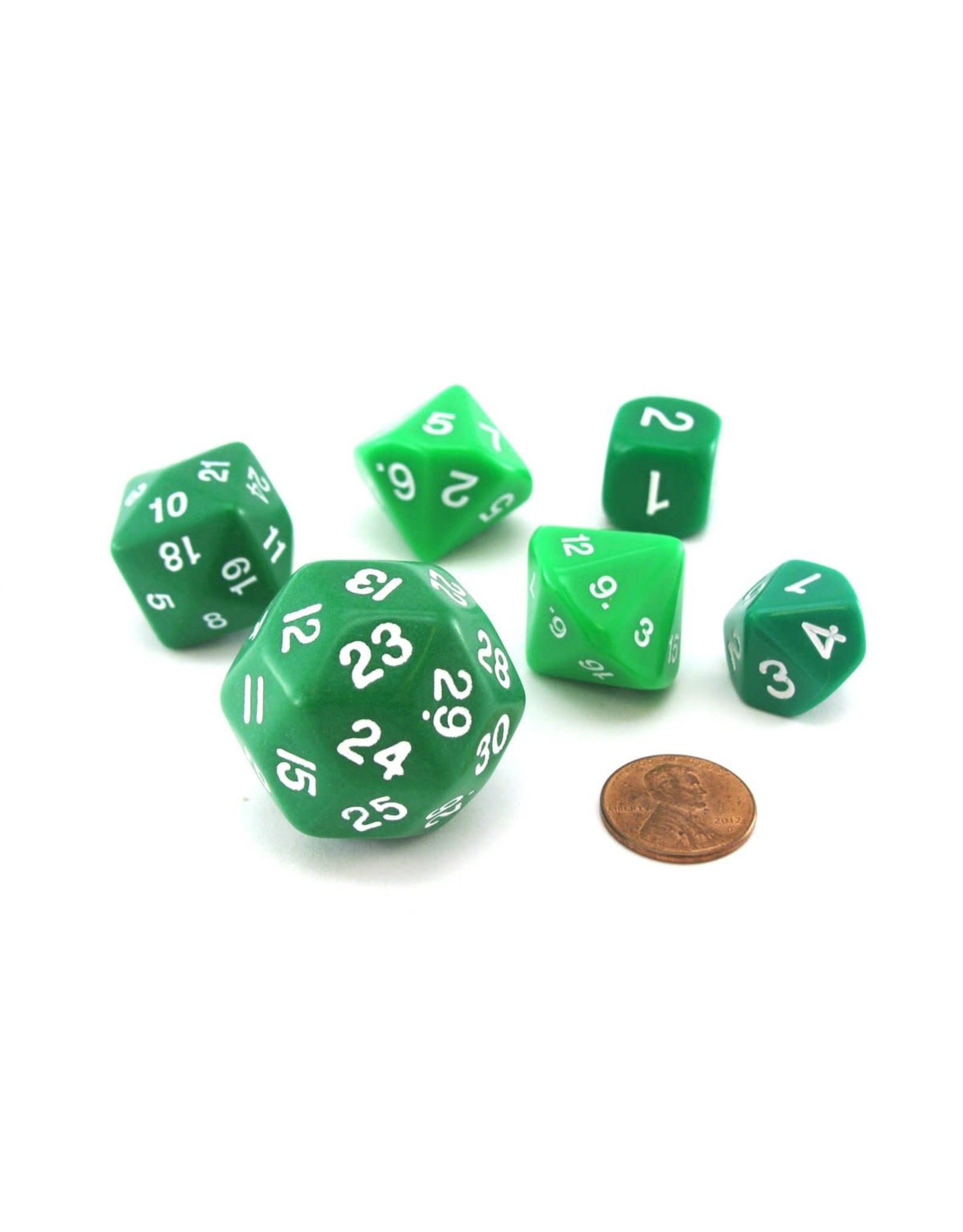 Koplow Games 6/SE BH  WHO KNEW? D3,D5,D7.D16,D24,D30 GREEN