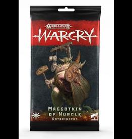 Games Workshop Warcry: Maggotkin of Nurgle Rotbringers Cards