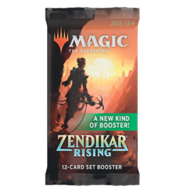 Wizards of the Coast MTG: Zendikar Rising Set Booster Pack