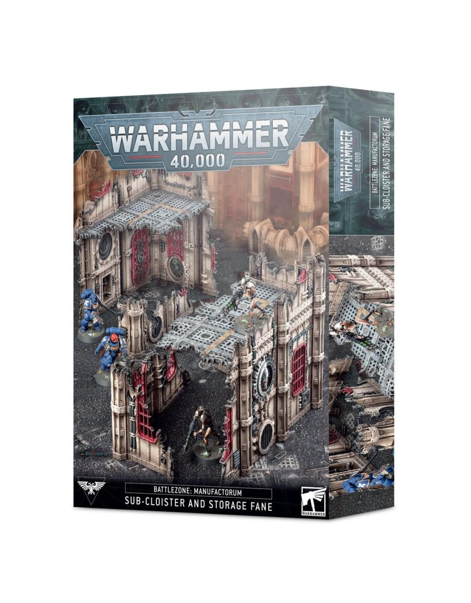 Games Workshop Battlezone Sub-Cloister and Storage Fane