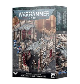 Games Workshop Battlezone Sub-Cloister and Storage Fane