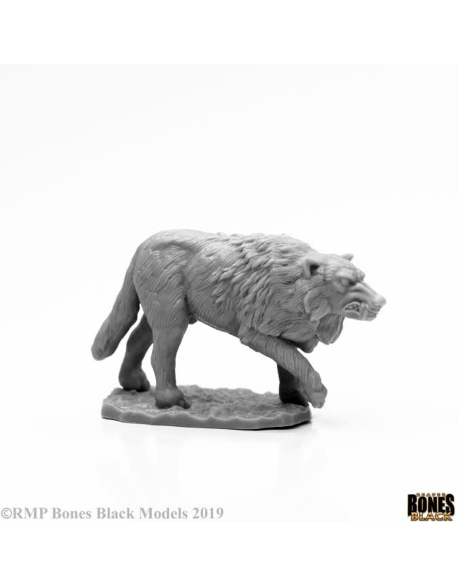 Reaper Miniatures Bones Black: Winter Wolf