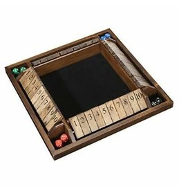 Wood Expressions Shut the Box 4-Player