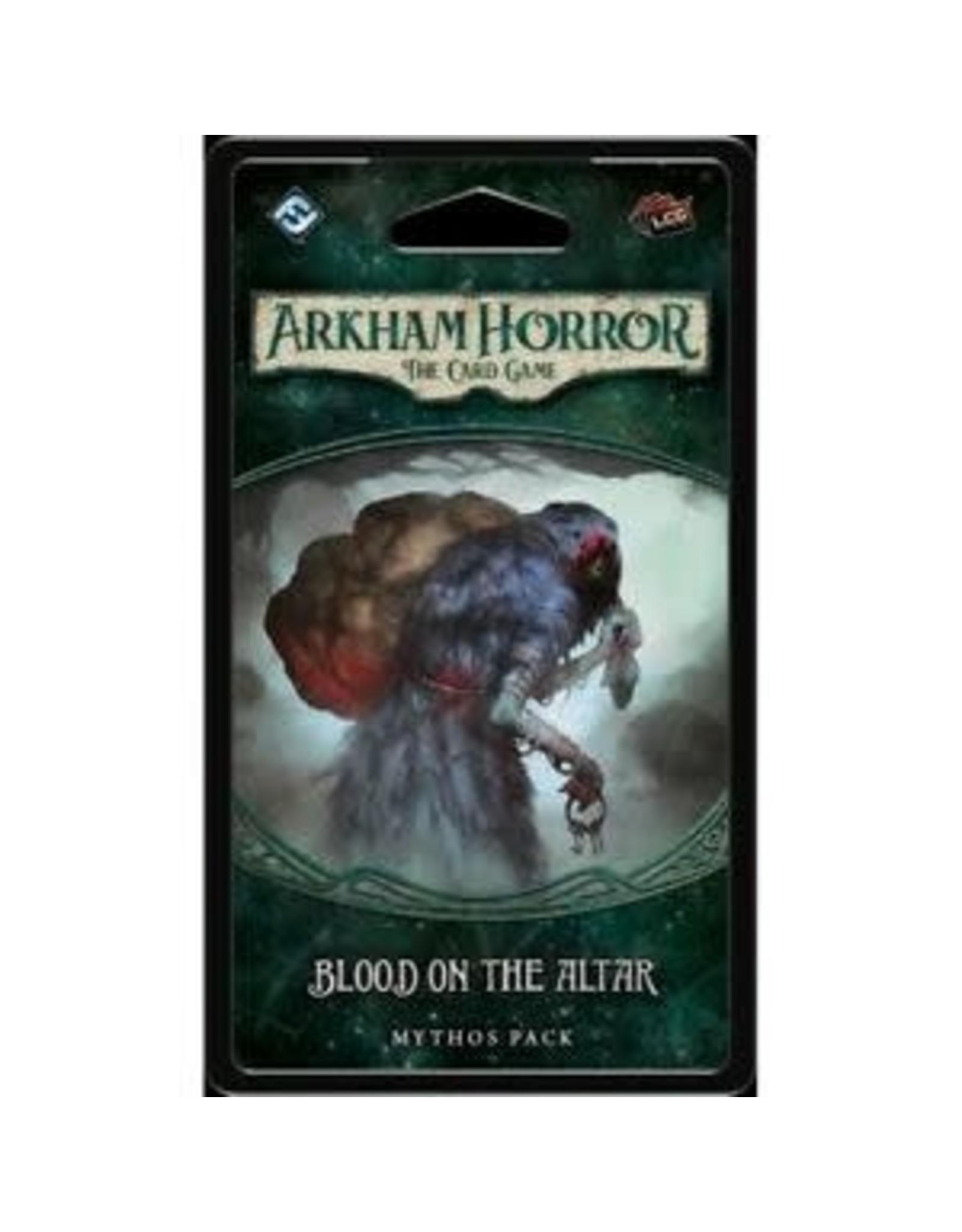 Fantasy Flight Games Arkham Horror LCG: Blood on the Altar Mythos Pack