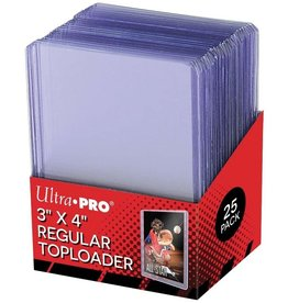 "Ultra Pro Ultrapro 3 X 4"" Regular Toploader"