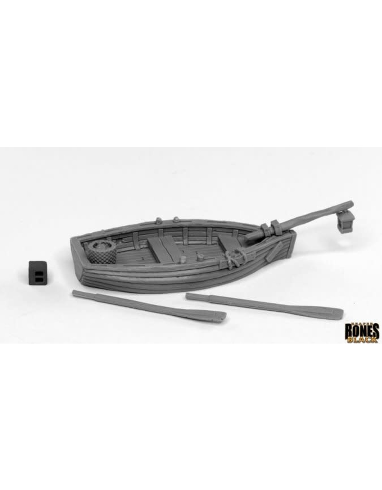 Reaper Miniatures Bones Black: Dreadmere Fishing Boat
