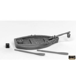 Reaper Miniatures Bones Black: Dreadmere Fishing Boat