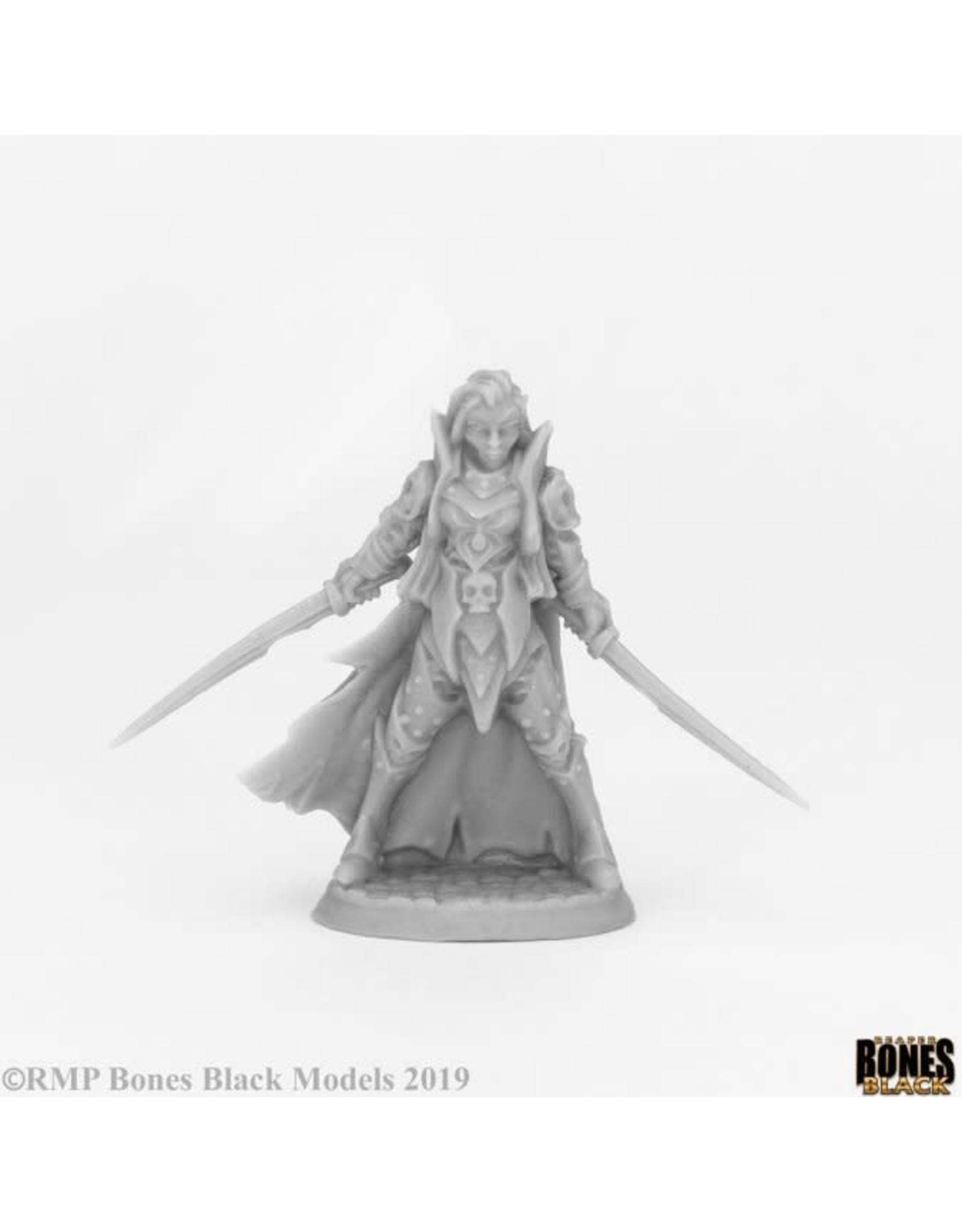 Reaper Miniatures Bones Black: Dark Elf Elite