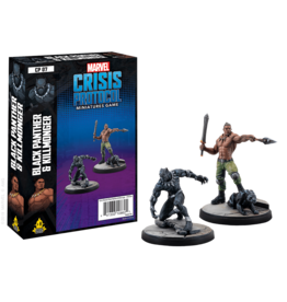 Asmodee Editions Marvel: Crisis Protocol - Black Panther and Kilmonger