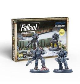 Modiphius Fallout Wasteland Warfare: Enclave Hellfire set