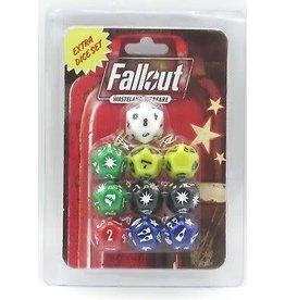 Modiphius Fallout: Wasteland Warfare - Dice Set