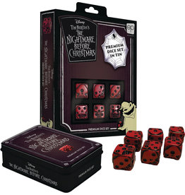 Usaopoly The Nightmare Before Christmas Premium d6 Dice Set (6)