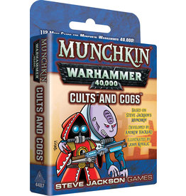 Steve Jackson Games Munchkin: Munchkin Warhammer 40K - Cults and Cogs