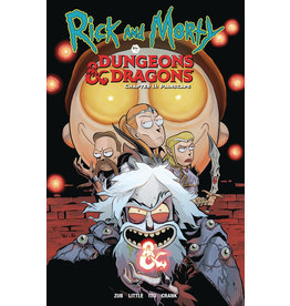 Rick and Morty Versus Dungeons & Dragons Volume 02 Painscape Trade Paperback