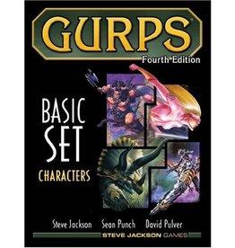 Steve Jackson Games GURPS Basic Set: Characters