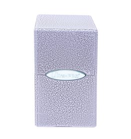 Ultra Pro Satin Tower Deck Box: Ivory Crackle
