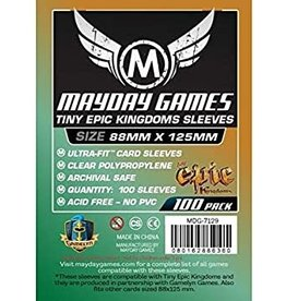 "Mayday Games Tiny Epic Kingdoms"" 88 x 125mm sleeves"