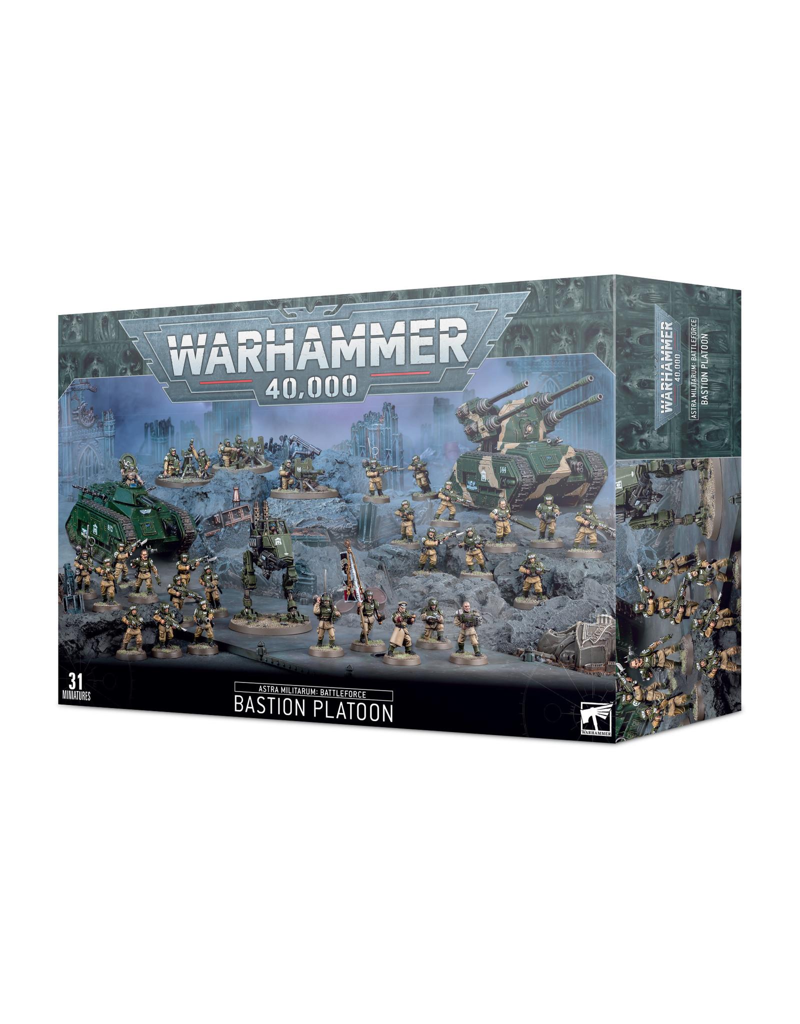 Games Workshop Astra Militarum Battleforce - Bastion Platoon