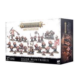 Games Workshop Ogor Mawtribes Battleforce - Meatgrinder Warglut