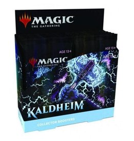 White Wizard Games MTG: Kaldheim Collector's Booster Display