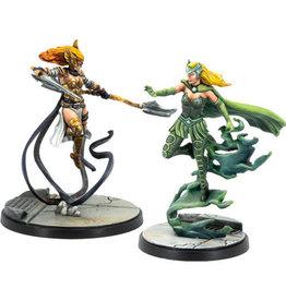 Atomic Mass Games Marvel Crisis Protocol Angela & Enchantress