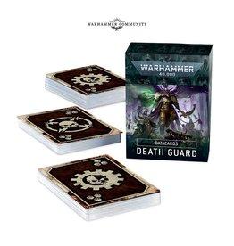 Games Workshop Preroder DATACARDS: DEATH GUARD