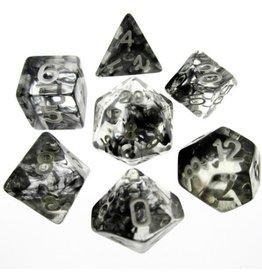HD Dice, LLC. Nebula Black Poly Dice (7)