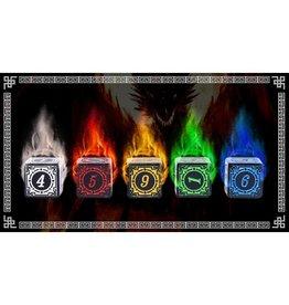 HD Dice, LLC. Magic Burst Set of D6 (25, 5 of each color)