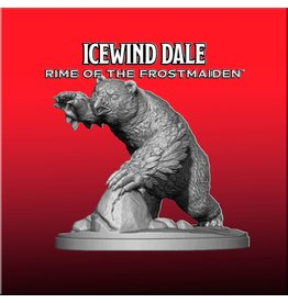 Gale Force Nine Dungeons and Dragons RPG: Icewind Dale: Rime of the Frostmaiden - Snowy Owlbear (1 fig)