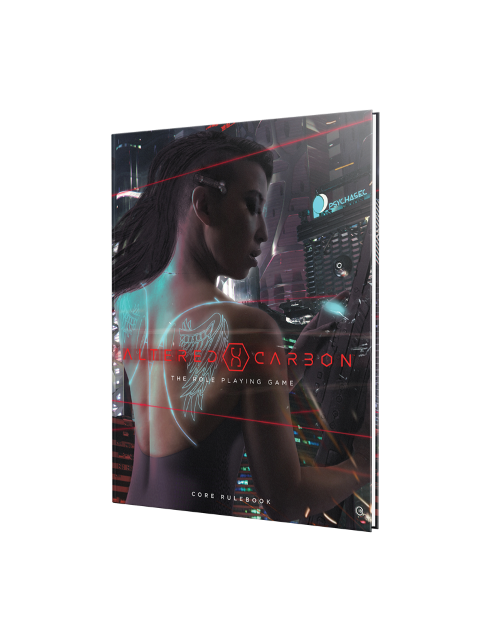 RENEGADE Altered Carbon Core Rulebook Hardcover