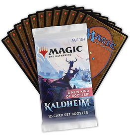 Wizards of the Coast MTG: Kaldheim Set Booster