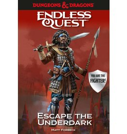 Random House Dungeons & Dragons RPG: An Endless Quest Adventure - Escape the Underdark (Softcover)