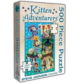 Steve Jackson Games Kitten Adventurers: 500 Piece Puzzle