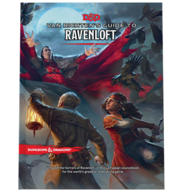 Wizards of the Coast PREORDER VAN RICHTEN'S GUIDE TO RAVENLOFT