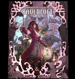 Wizards of the Coast PREORDER VAN RICHTEN'S GUIDE TO RAVENLOFT ALT-COVER