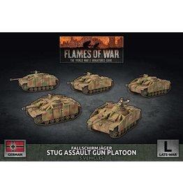 Battlefront Miniatures Stug Assault Gun Platoon (x5 Plastic)