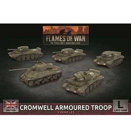 Battlefront Miniatures Cromwell Armoured Troop (x5 Plastic)