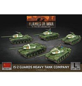 Battlefront Miniatures IS-2 Guards Heavy Tank Company (x5 Plastic)