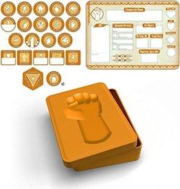 Gale Force Nine Monk Token Set (Player Board & 23 tokens)