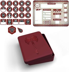 Gale Force Nine Barbarian Token Set (Player Board & 22 tokens)