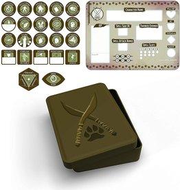 Gale Force Nine Ranger Token Set (Player Board & 23 tokens)