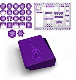 Gale Force Nine Bard Token Set (Player Board & 22 tokens)