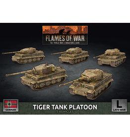 Battlefront Miniatures Tiger Heavy Tank Platoon (x5 Plastic)