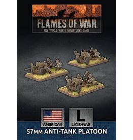 Battlefront Miniatures 57mm Anti-Tank Platoon (x3 Plastic)