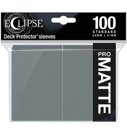Ultra Pro Eclipse Matte Standard Sleeves: Smoke Grey (100)
