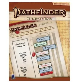 Paizo PATHFINDER RPG - SECOND EDITION: COMBAT PAD