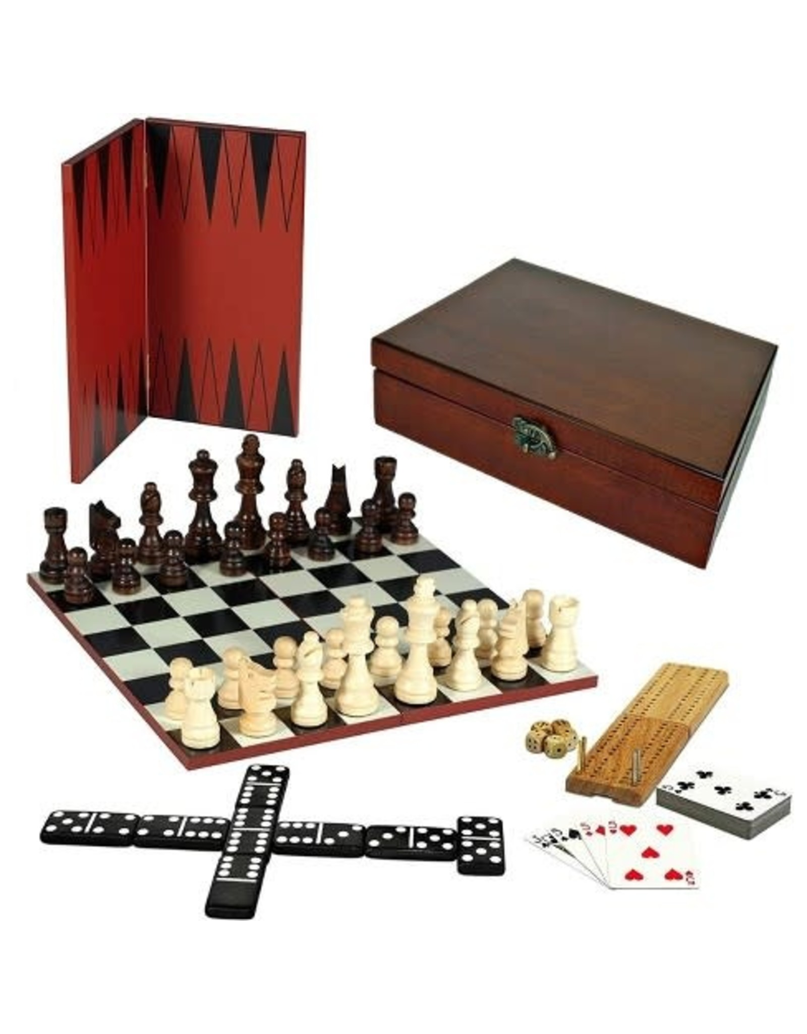 Wood Expressions 7-IN-1 COMBINATION GAME